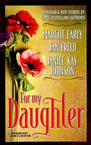 Cover of: For My Daughter (Harlequin Promo)