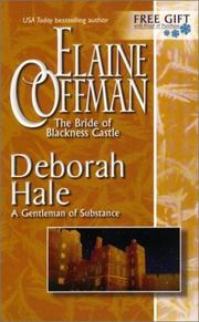 Cover of: Bride of Blackness Castle: A Gentleman of Substance (National Consumer Promotion)