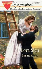 Cover of: Love Sign (Love Inspired, February 2001)