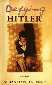 Cover of: Defying Hitler: A Memoir