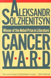 Cover of: Cancer ward