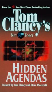 Cover of: Hidden Agendas (Tom Clancy's Net Force, No. 2)