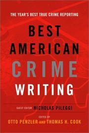 Cover of: Best American Crime Writing