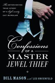 Cover of: Confessions of a Master Jewel Thief