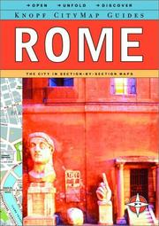 Cover of: Rome (Citymap Guide)