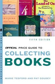 Cover of: Official Price Guide to Books, 5th Edition (Official Price Guide to Books)