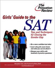 Cover of: The Girls' Guide to the SAT