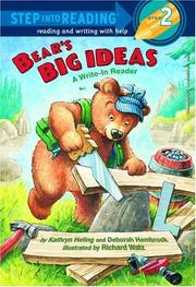 Cover of: Bear's Big Ideas (Step into Reading)