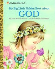 Cover of: My Big Little Golden Book About God