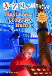 Cover of: Mayflower Treasure Hunt (AtoZ SE#2) (A Stepping Stone Book(TM))