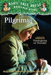 Cover of: Pilgrims (Magic Tree House Rsrch Gdes(R))