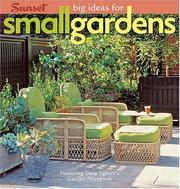 Cover of: Big Ideas for Small Gardens