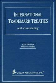 Cover of: International Trademark Treaties with Commentary