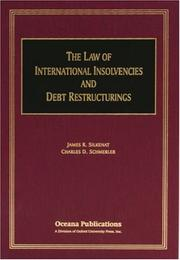 Cover of: The Law of International Insolvencies and Debt Restructurings