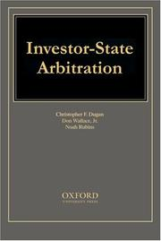 Cover of: Investor-State Arbitration