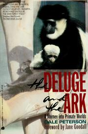 Cover of: The deluge and the ark