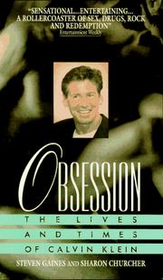 Cover of: Obsession