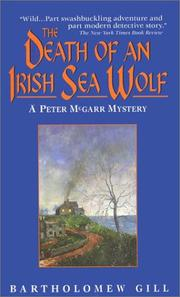 Cover of: The Death of an Irish Sea Wolf (Peter McGarr Mysteries)