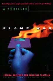 Cover of: Flame War: A Cyberthriller