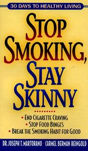 Cover of: Stop Smoking, Stay Skinny