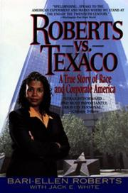 Cover of: Roberts Vs. Texaco:
