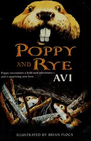 Cover of: Poppy and Rye (The Poppy Stories)