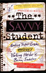 Cover of: Savvy Student