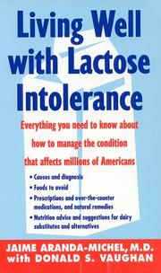Cover of: Living Well With Lactose Intolerance
