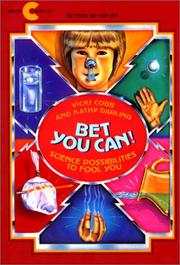 Cover of: Bet You Can! Science Possibilities to Fool You
