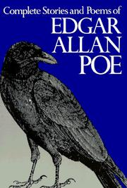 Cover of: Complete stories and poems of Edgar Allan Poe