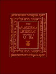 Cover of: The Anchor Bible Dictionary, Volume 5 (Anchor Bible Dictionary)