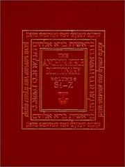 Cover of: The Anchor Bible Dictionary, Volume 6 (Anchor Bible Dictionary)