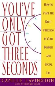 Cover of: You've Only Got Three Seconds