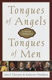 Cover of: Tongues of Angels, Tongues of Men