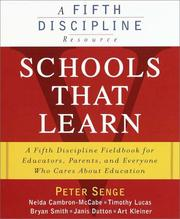 Cover of: Schools That Learn