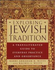 Cover of: Exploring Jewish Tradition