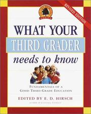 Cover of: What Your Third Grader Needs to Know, Revised and Updated