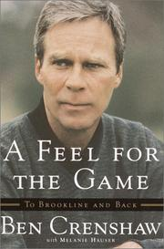 Cover of: A Feel For the Game