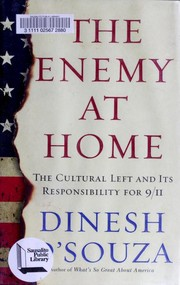 Cover of: The Enemy at Home: The Cultural Left and Its Responsibility for 9/11