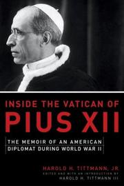 Cover of: Inside the Vatican of Pius XII