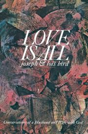 Cover of: Love is All