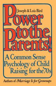 Cover of: Power to the Parents!