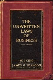 Cover of: The Unwritten Laws of Business