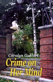 Cover of: Crime on her mind: a collection of short stories
