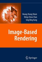 Cover of: Image-Based Rendering