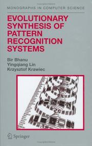 Cover of: Evolutionary Synthesis of Pattern Recognition Systems (Monographs in Computer Science)