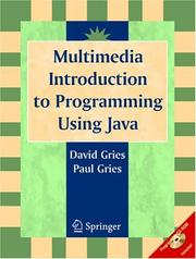 Cover of: Multimedia Introduction to Programming Using Java