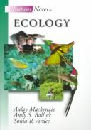Cover of: Instant Notes in Ecology (Instant Notes Series)