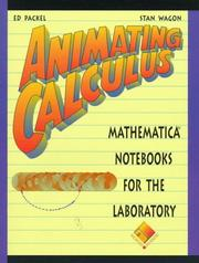 Cover of: Animating Calculus