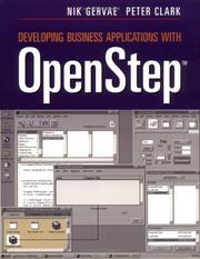 Cover of: Developing Business Applications with OpenStep TM